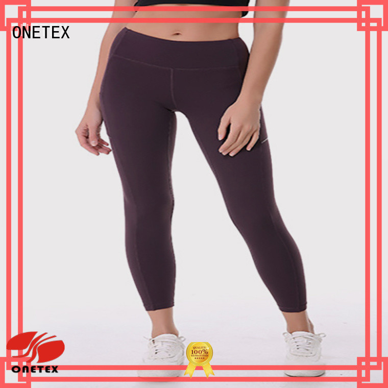 ONETEX ladies running leggings supplier for daily