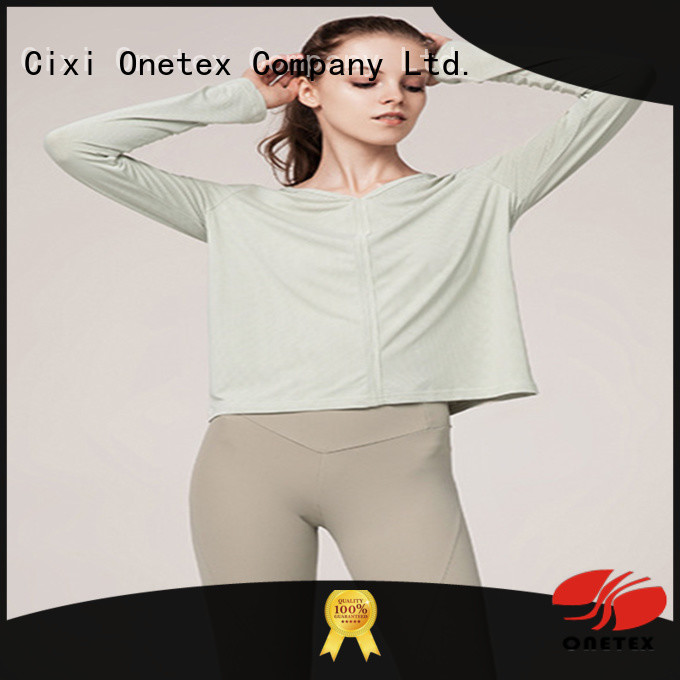ONETEX women's fitness shirts China for daily