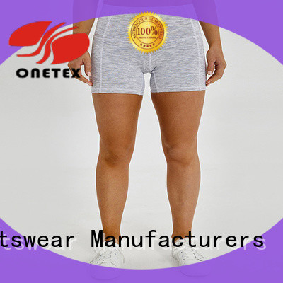 ONETEX new design ladies sports shorts Factory price for Outdoor sports