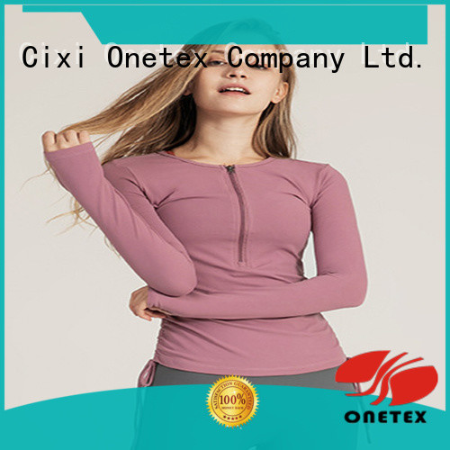 ONETEX custom made gym t shirts for women for business for Fitness