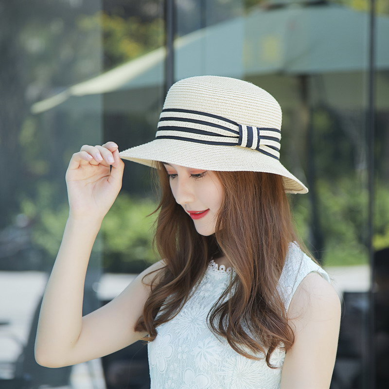 2020 Sun  UV Protection  Ribbon Women Summer Hats H20001