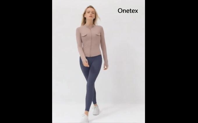 High Waist Yoag Pants 4 Way Stretch Women Leggings with Pockets
