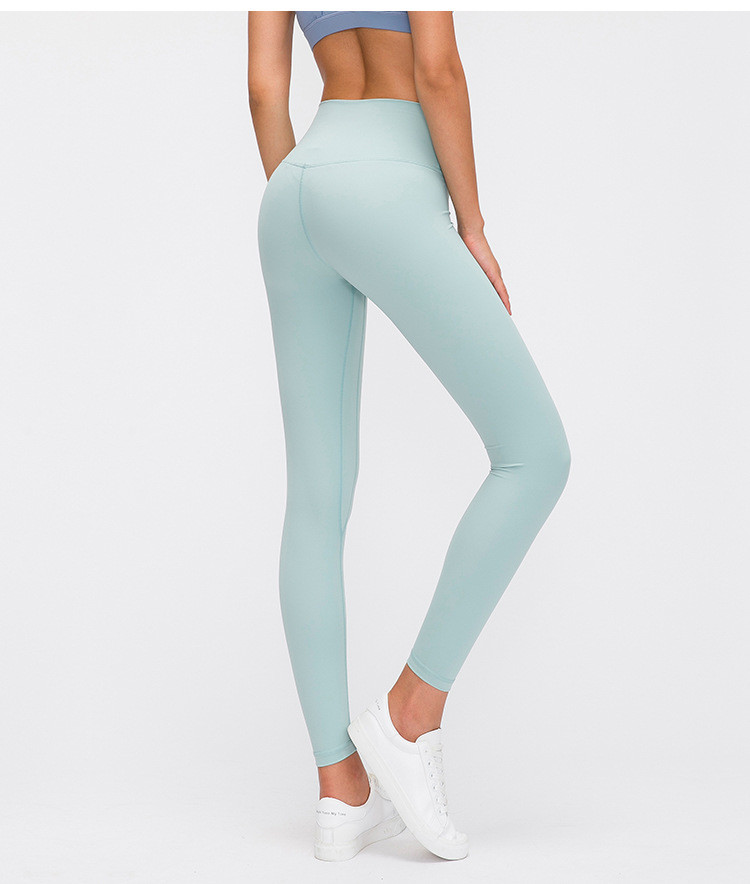 product-ONETEX-High Quality Moisture Wicking Soft Fabric Yoga Leggings Women's High Waist Hip Runnin-2
