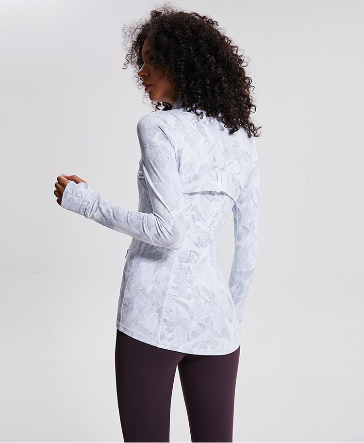 Best Women's Lightweight, Full Zip Running Track Print Jacket Oem With Good Price