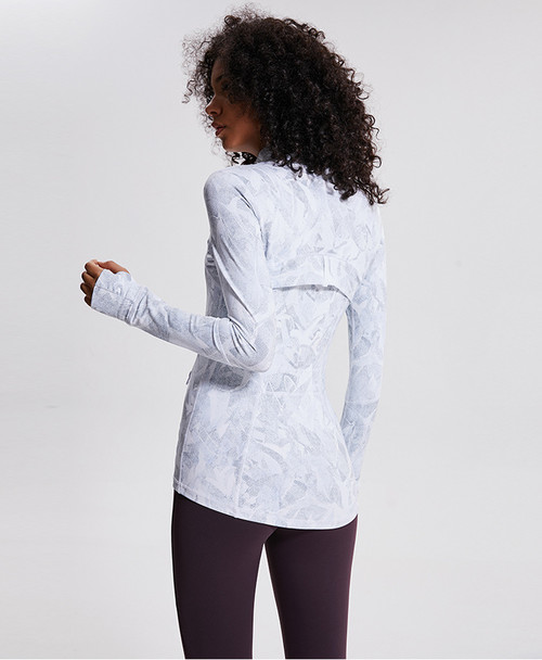 product-Best Women's Lightweight, Full Zip Running Track Print Jacket Oem With Good Price-ONETEX-img-1